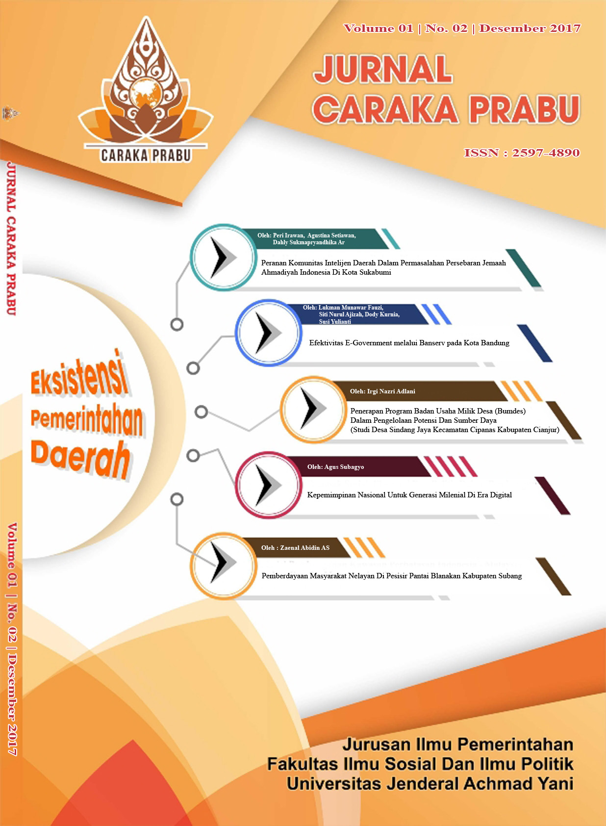 Caraka Prabu Vol.1 No.2
